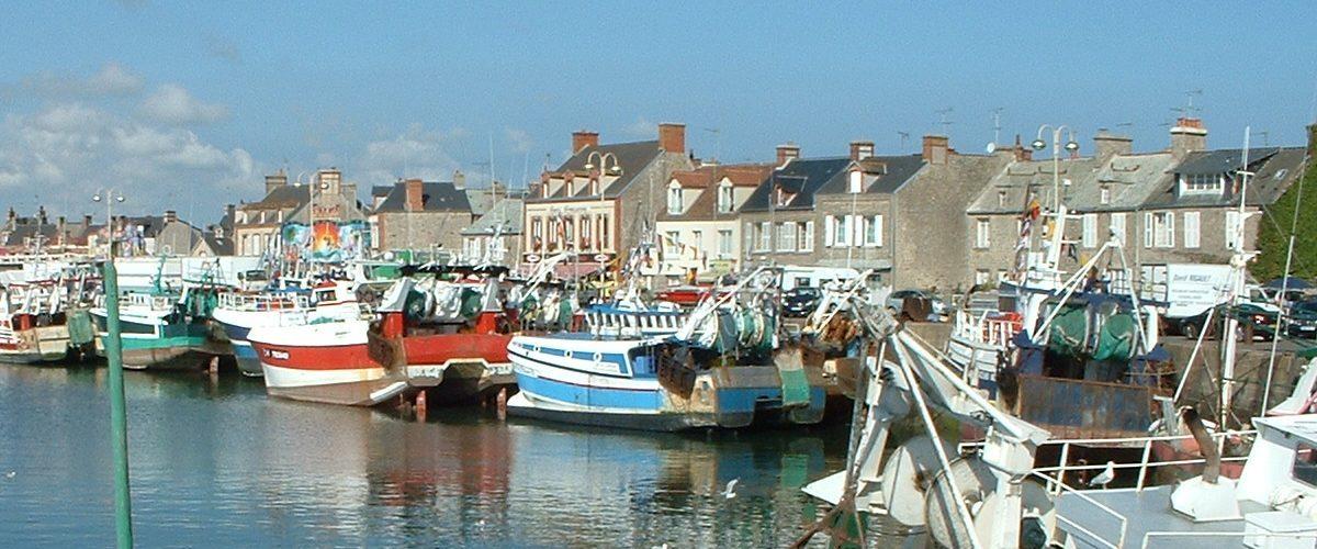 Un port Normand traditionnel