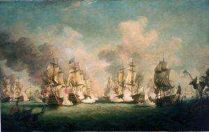 La bataille de Barfleur
