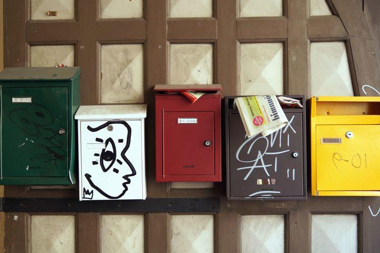 Boite postale d'entreprise